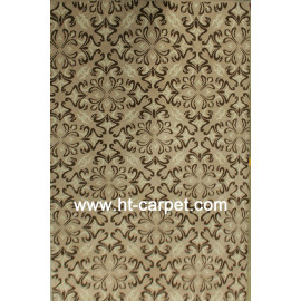 Hot selling polyester machine made rugs for home
