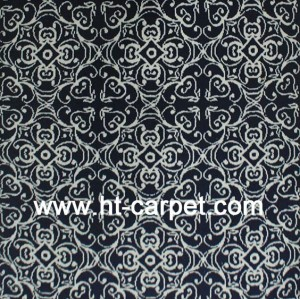 Customized machine made polyester microfiber rugs