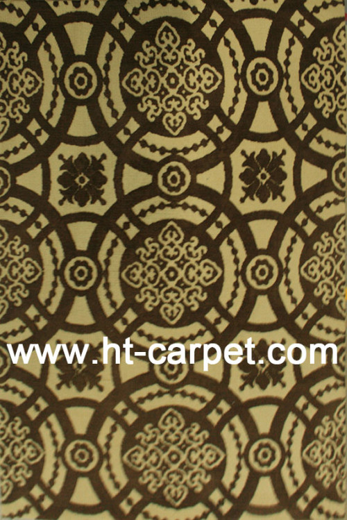 Modern design machine made polyester area carpet