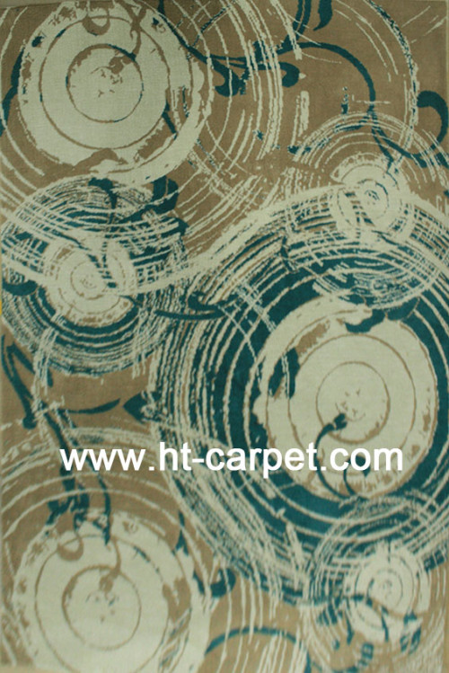 High quality machine made 100% polyester rugs from China
