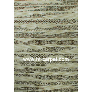 Jacquard circular machine made high quality polyester carpets