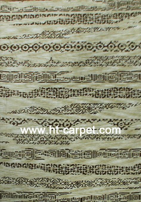 Jacquard circular machine made high quality polyester carpets