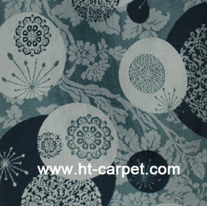 New design machine made 100% polyester comfortable carpets