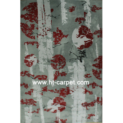 Modern style machine made high quality rugs for home