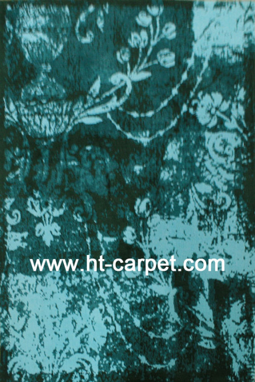 Modern design machine made mocrofiber  carpets supplier