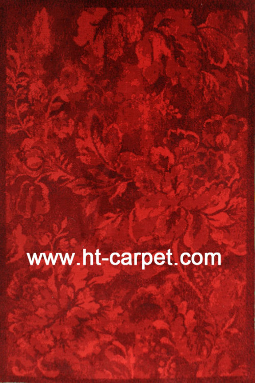 Customized machine made polyester area rugs for wholesale