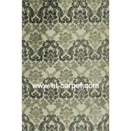 Machine made polyester microfiber rugs from Tianjin China