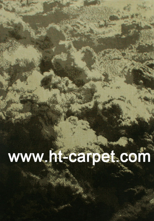 High quality machine made 100% polyester rugs for decoration