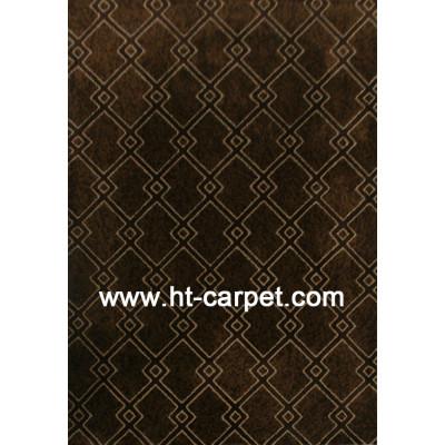 Machine made 100% polyester carpet for livingroom