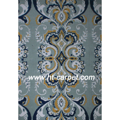 Machine made 100% polyester carpets and rugs