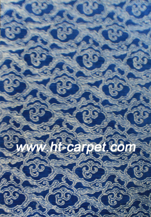 High quality machine made polyester space-dyed carpets