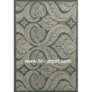 Customized 100% polyester machine made floor carpets