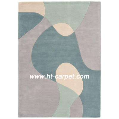 High quality factory price machine made 100% polyester area carpets