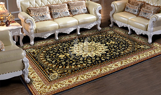 2017 Factory Wholesale Polyester Floor Carpet for Home and Hotel