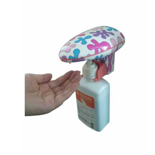 abs plastic wall-mounted touchless hand sanitizer dispenser