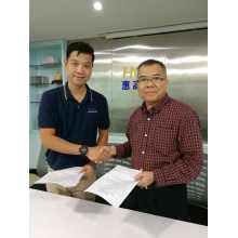 Smarlean sign the exclusive agreement with the customer