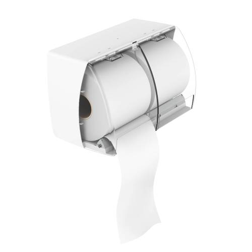 DOUBLE ROLL PAPER TISSUE HOLDER