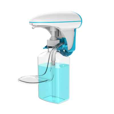 Wall-mounted touchless hand sanitizer dispenser