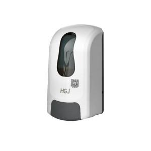 1000ml wall mounted manual soap dispenserr plastic ABS white/black