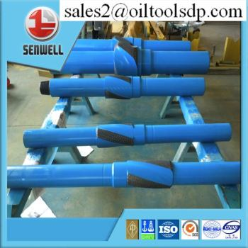 API standard AISI 4145H Mod forged straight stabilizer for drilling