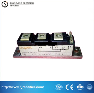 Original thyristor module for industry heat-up control TT61N 14KOF