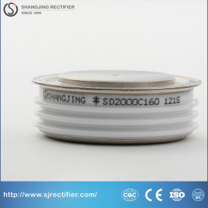 Capsule type Standard rectifier diode SD2000C1600V