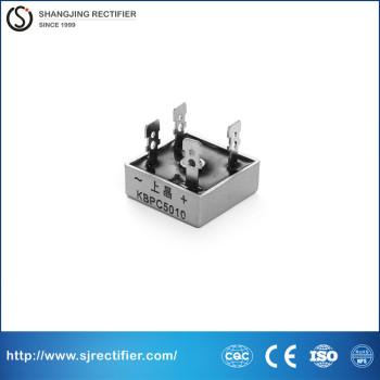 Single phase bridge rectifier KBPC5010