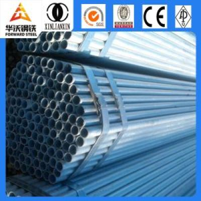 schedule 80 pre-galvanized steel pipe with fittings elbow