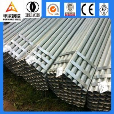 Forward steel 48.3 galvanzied steel pipe with high quality