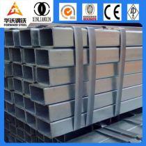 building material Q195/Q235 galvanized square structure steel pipe