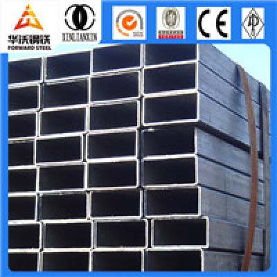 80x80 steel square section tube size Q195 Q235 Q345
