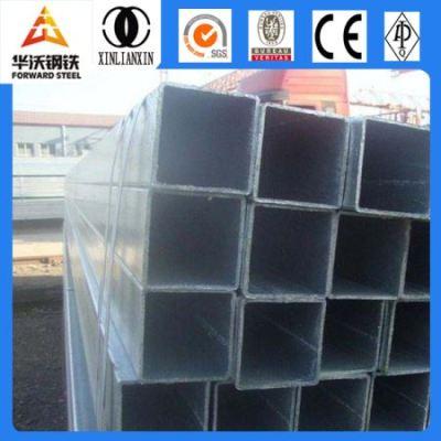 Hot Dip Galvanized iron Pipe & galvanized steel rectangular pipe Q 235