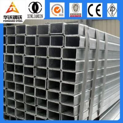 Q 235 material  25x25 galvanized square steel pipe