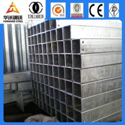 Chinese thick wall mild welded galvanized square steel pipe for sale