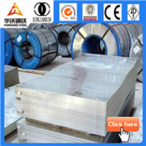cold rolled steel coil/sheet price list Gi plate/sheet