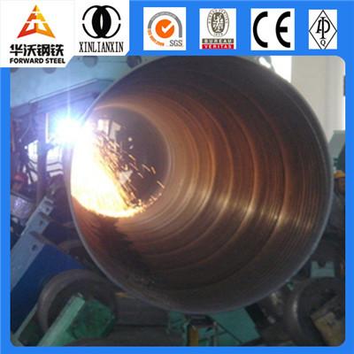 12 meter large diameter spiral welded steel SSAW pipe