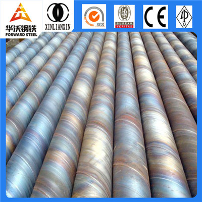 LSAW/ SSAW spiral round welded steel pipe used