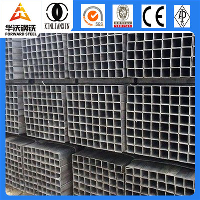 Welding square steel tube price hollow section steel supplier