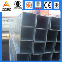 Low carbon Pre-Galvanized square steel pipe 50x50mm
