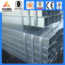 Tianjin welded pre galvanized square structure steel pipe/tube
