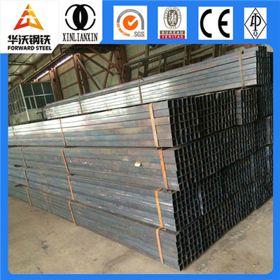 Black/Galvanized Hollow square section supplier