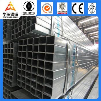 Q235 galvanized steel price per kg iron steel square tube