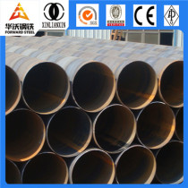black 20inch ssaw spiral welded steel tube