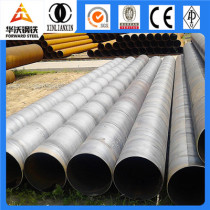 Forward spiral steel pipes for transportation