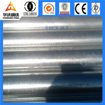 Forward Steel hot dip galvanized pipe scheduled 40 specifications