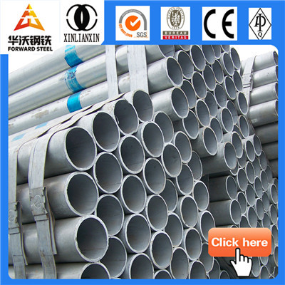 Forward Steel thin wall welded hot dip galvanized steel pipe 4 inch