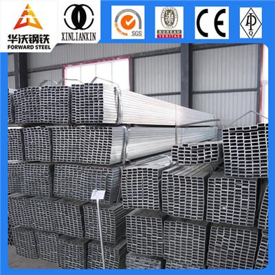 Tianjin galvanized steel rectangular tube for buildings materials