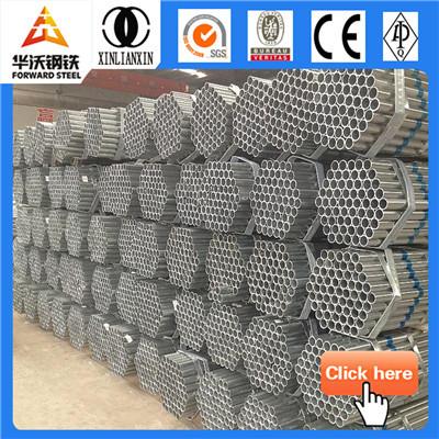 pre-galvanized oil drilling steel pipe