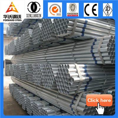 50mm pre-galvanized steel pipe
