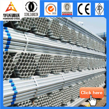 Forward Steel pre-galvanized welded thin wall steel pipe
